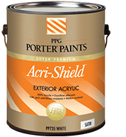 Acri-Shield Paint By Porter Paints