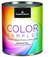 Paint Samples By By Benjamin Moore